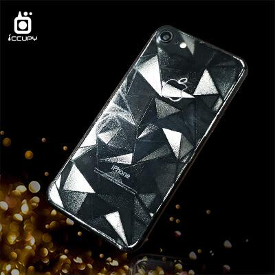 刁膜DiaoMore經典壓紋膜大三角圖案手機包膜 1