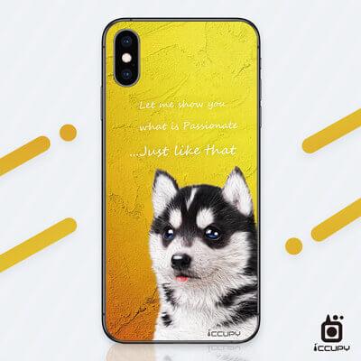 刁膜DiaoMore萌寵物語哈士奇手機包膜 1