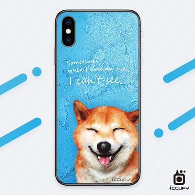 刁膜DiaoMore萌寵物語柴犬圖案手機包膜 1