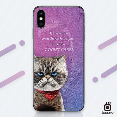 刁膜DiaoMore萌寵物語異國短毛貓手機包膜 1