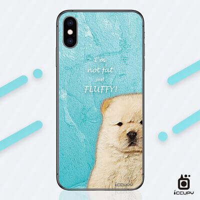 刁膜DiaoMore萌寵物語鬆獅犬手機包膜 1