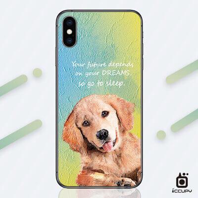 刁膜DiaoMore萌寵物語黃金獵犬手機包膜 1