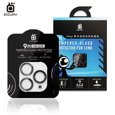 iPhone 11 極光立體全包覆鏡頭玻璃保護貼 1